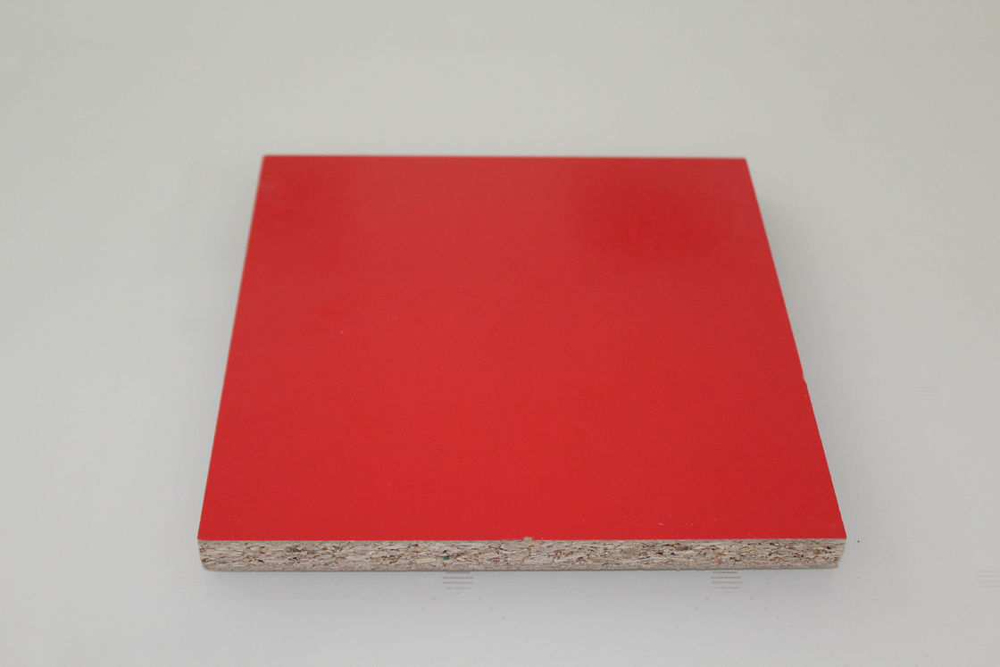 Waterproof PVC Melamine Laminated Particle Board Chipboard For Office Table