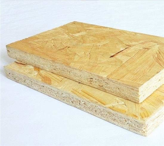 Pre Finished E0 Glue Exterior OSB Board / Building Wall Panel OSB Wood Sheets
