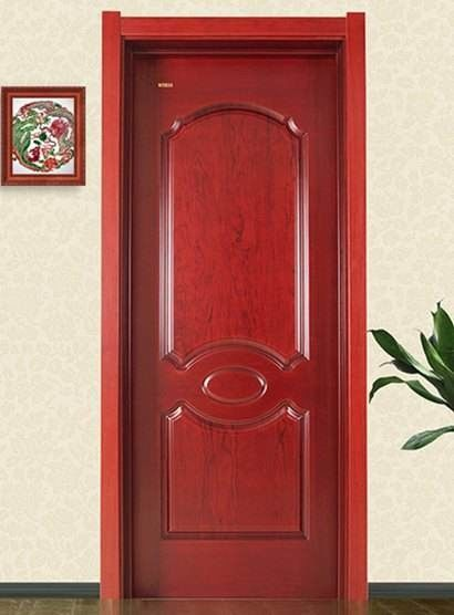 Moisture Resistant MDF Door Skin With Melamine Mold Finishing Surface 1900mm-2150mm